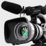 Video camera used to film professional videos for online markting and business branding